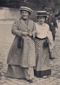 Clara Zetkin och Rosa Luxemburg1910